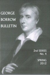 Cover of current edition of George Borrow Bulletin